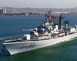 Çin Donanması Akdeniz'e Çıktı