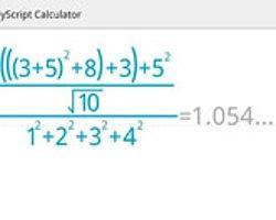 MyScript Calculator: Karmaşık İşlemler İçin Hesap Makinası