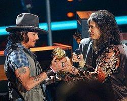 Aerosmith, Julian Lennon ve Johnny Depp'le Birlikte Çalışacak