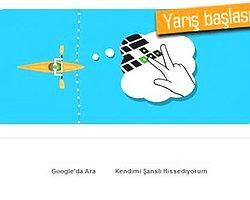 Google Doodle'ı ile Kano Slalom Yarışlarına Hazırlanın