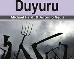 """Hardt ve Negri'den """"Duyuru"""" var"""