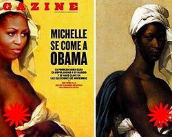 Michelle Obama'lı Kapağa 'Irkçılık' Tepkisi
