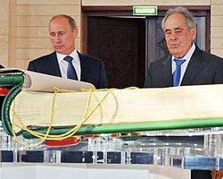 Putin'den En Büyük Kur'an-ı Kerim'e Ziyaret