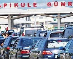 Trafik Borcu Olan Gurbetçi Sınırdan Çıkamayacak