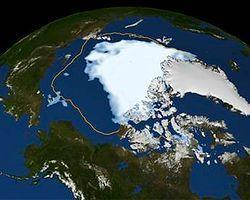Kuzey Kutbu hızla yok oluyor