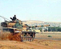 Suriye Sınırında Büyük Tatbikat