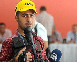 Polisten Gazetecilere Dayanıklı Şapka