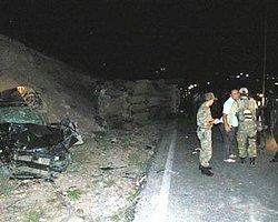 Siirt'te Kaza: 4'ü Asker, 5 Yaralı