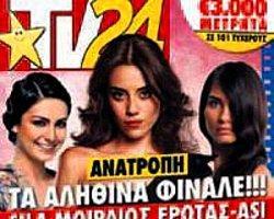 Üç Yunan Dergisinin Kapağını Türkler Süsledi
