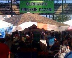 Ekolojik Pazarlar Kervanına Burhaniye de Katıldı