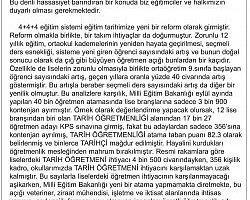 Atanamayan öğretmenler tepkilerini gazete ilanıyla dile getirdi