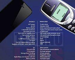 Efsane 3310 İphone 5′e kafa tutuyor!