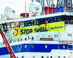 Shell ve Greenpeace Kutup Savaşında