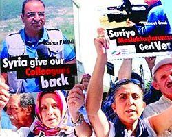 Tv Tarihinde İlk! 17 Kanal Suriye'deki Tutsak Gazeteciler İçin Ortak Yayın Yaptı
