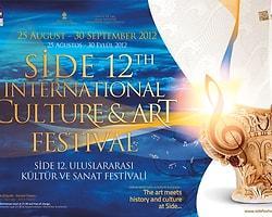 Side 12. Uluslararası Kültür ve Sanat Festivali