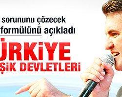 Sarıgül'ün Kürt çözümü: Türkiye Birleşik Devletleri