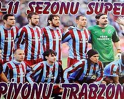 """""""Şampiyon Trabzonspor"""" posteri"""