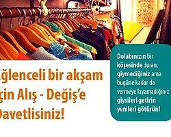 İstanbul'da Alış&Değiş Partisi