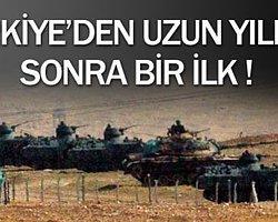 Türkiye-Suriye Sınırında Bir İlk