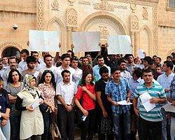 Kürtçe Öğretmen Adaylarından Formasyon Protestosu