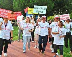 Obeziteye 'Hindi Kımıldanıve' Yürüyüşü