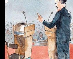 Başka Haber: Obama'nın 'Zayıf' Münazarası New Yorker'ın Kapağında: Obama Neredey