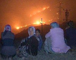 Amanos Dağları'nda büyük yangın