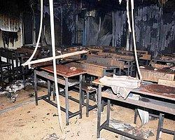 PKK Van'da Okul Yaktı