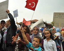 """Bursa'da Termiğe Karşı Ortak Ses, """"İstemiyoruz"""""""