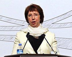 AB Dışişleri Yüksek Temsilcisi Ashton Lübnan'da
