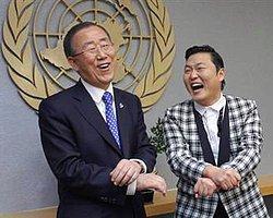 Ban'a 'Gangnam Style' Yaptırdı