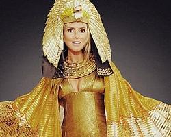 Heidi Clum Kleopatra Oldu