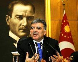 Gül'den Parti Ayrımı