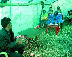 Batman'da 'Çadırokul'da Eğitim