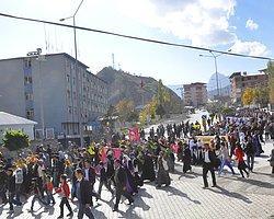 Öldürülen PKK'lının Cenazesinde Olaylar Çıktı