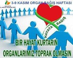 3-9 Kasım Organ Bağış Haftası