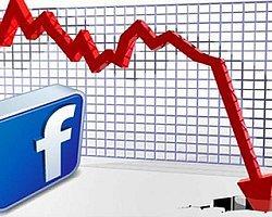 Facebook Hisseleri Tekrar Düşüşte