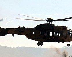 Siirt'te Askeri Helikopter Düştü