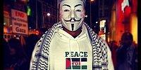 Anonymous İsrail'e Saldırdı