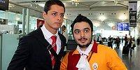 Galatasaraylı Taraftarlar United'ı Uğurladı