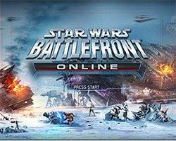 Battlefront Online'dan Görseller