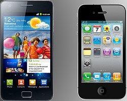 Samsung Avrupa'daki Yarışta Apple'ı Yakaladı