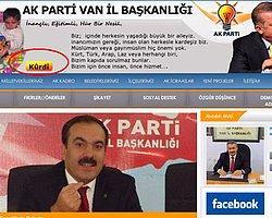 AKP Van İl Başkanlığı'ndan 'Kürtçe Açılımı'