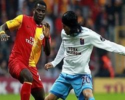 Trabzonspor-Galatasaray İlk 11'ler