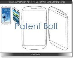 Samsung, Galaxy S3'Ün Tasarımını Patentledi