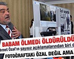 Ahmet Özal'ın Babasıyla İlgili Paylaştığı Kare