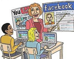 Müfredatta Facebook Devri