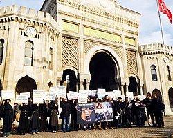 Odtü'lü Eylemcilere Eşekli Protesto