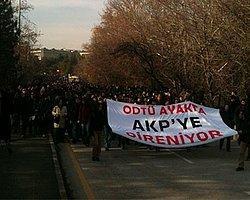 Bilgi Üniversitesi'nden Odtü'ye: Destekçileriyiz!