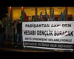 Odtü'deki Polis Müdahalesini Protesto Eden 18 Öğrenci Gözaltında